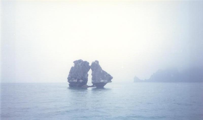 Trong Mai Islet in mist