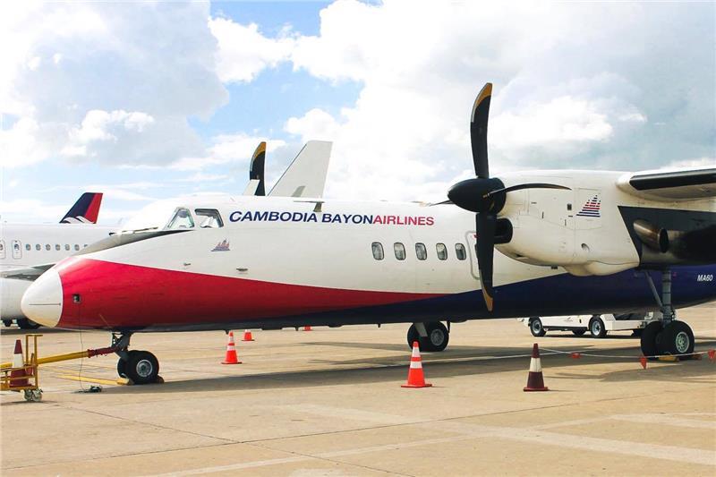 Kết quả hình ảnh cho Cambodia Bayon Airlines