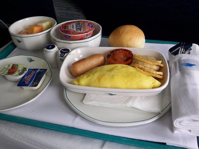 Suất ăn trên máy bay