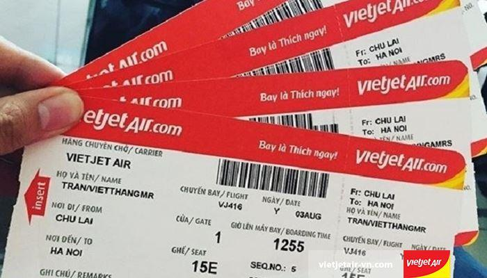 Cách check vé máy bay Vietjet trên website của hãng
