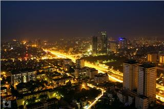 Hanoi at night