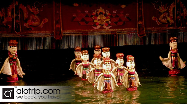Traditional Water Puppet Show