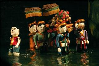 Dao Thuc folk water puppetry in Vietnam