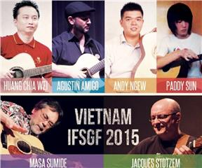 International Finger-Style Guitar Festival in Vietnam 2015