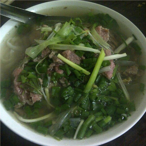 Beef Pho in Bat Dan