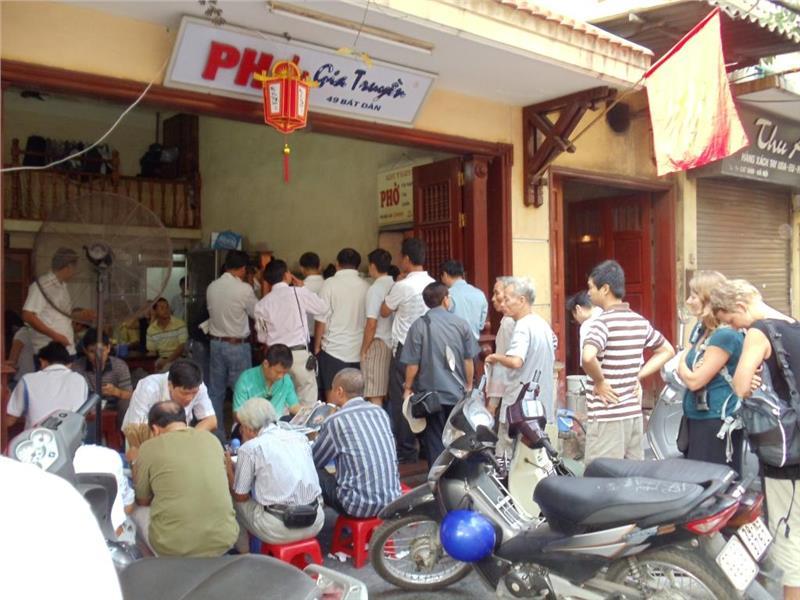 Limited Space in Pho Bat Dan Restaurant