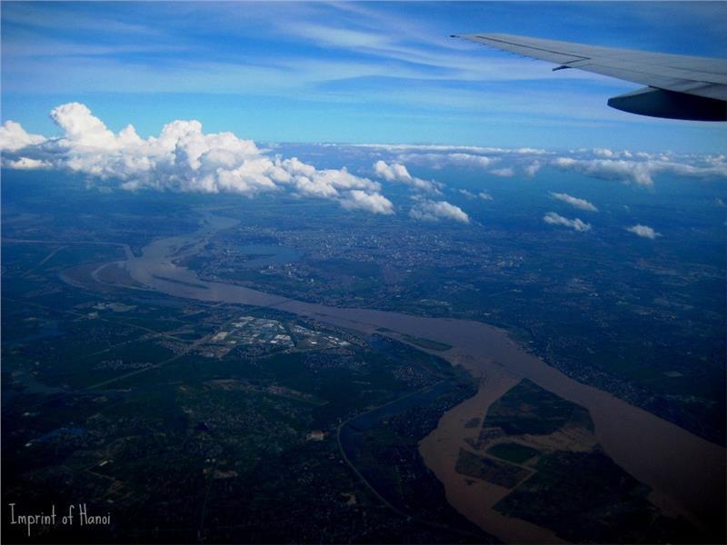 Hanoi City from high above