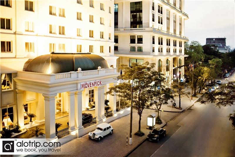 Exploring Vietnam hotel with Hanoi Movenpick Hotel