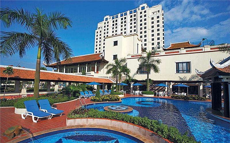 Sheraton Hanoi Hotel - Swimming Pool