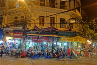 Nightlife at Hanoi Old Quater