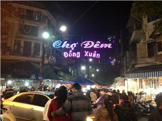 Dong Xuan night market a new cultural space in Hanoi