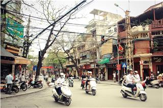 Hanoi Old Quarter implements the major relocation