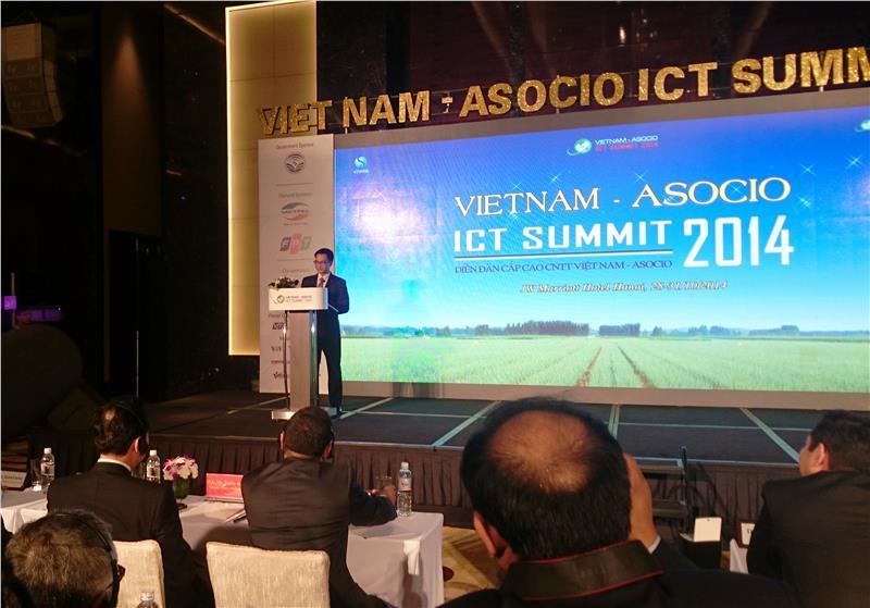 ASOCIO-ICT Summit 2014 in Hanoi