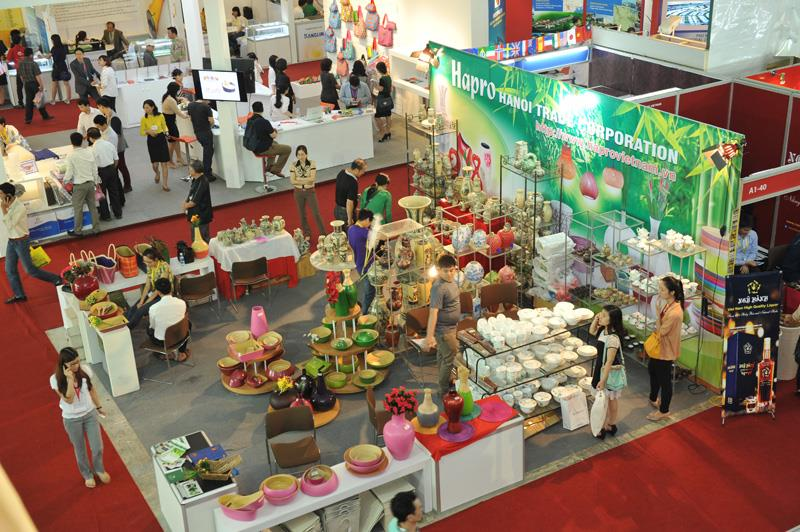 Booth of Hapro at Vietnam Expo