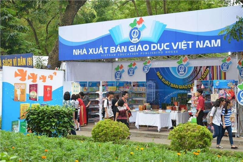 Booth of Vietnam Education Publishing House