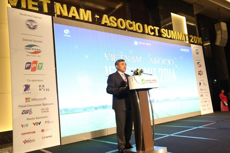 Breakthroughs in Vietnam ASOCIO ICT Summit 2014