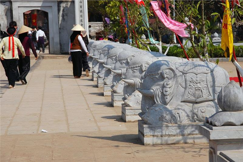 Hai Ba Trung Temple in Hanoi