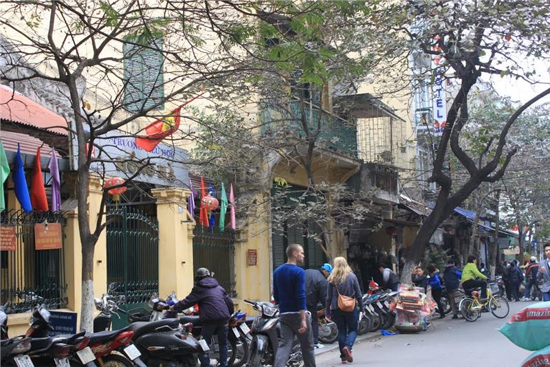 Lan Ong Street in Winter