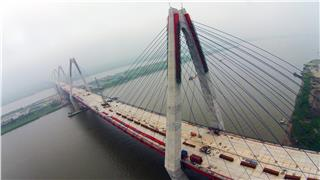 Nhat Tan Bridge - symbol of Vietnam Japan Friendship