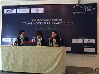 Vietnam Young Hoteliers Award 2015 press conference