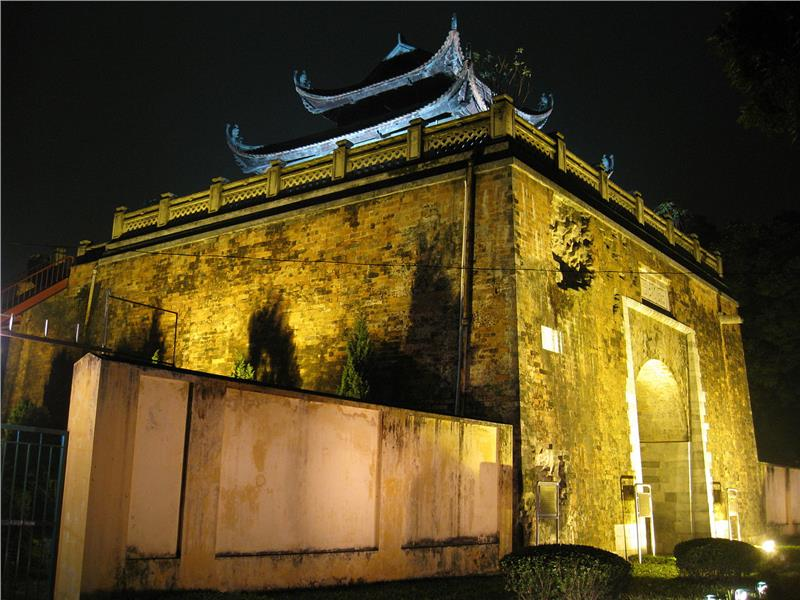 The North Gate of Thang Long Citadel
