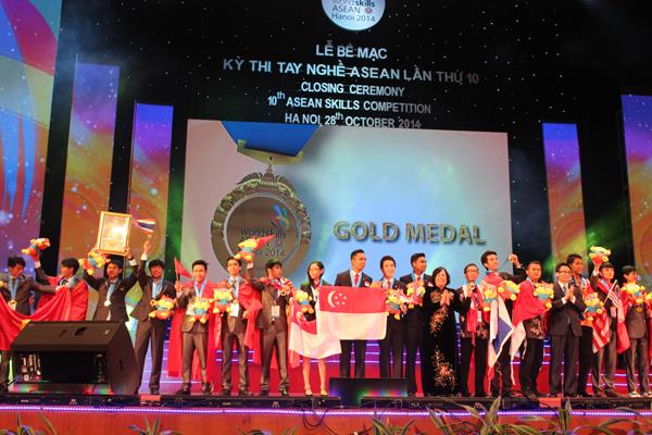 10th ASEAN Skills Competition in Hanoi successfully ended