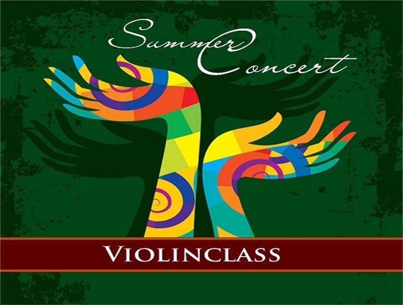 Violin Class in Summer Concert 2015