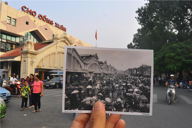 Dong Xuan Market - Yesterday and now