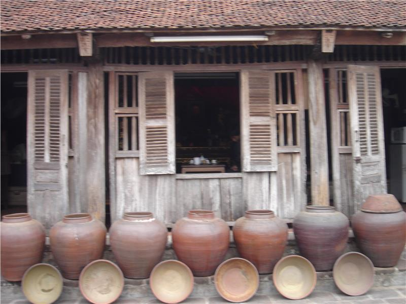 Traditional house in Duong Lam village