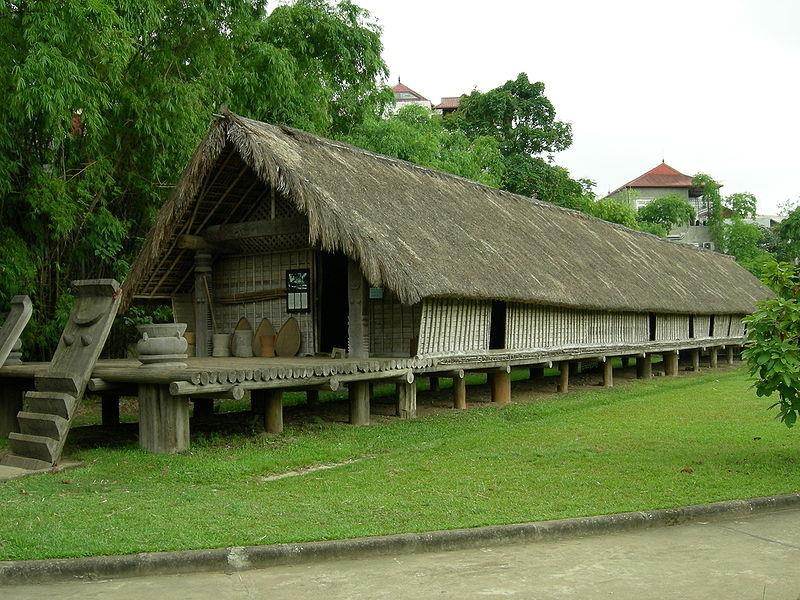 An Ede dwelling in Vietnam Museum of Ethnology