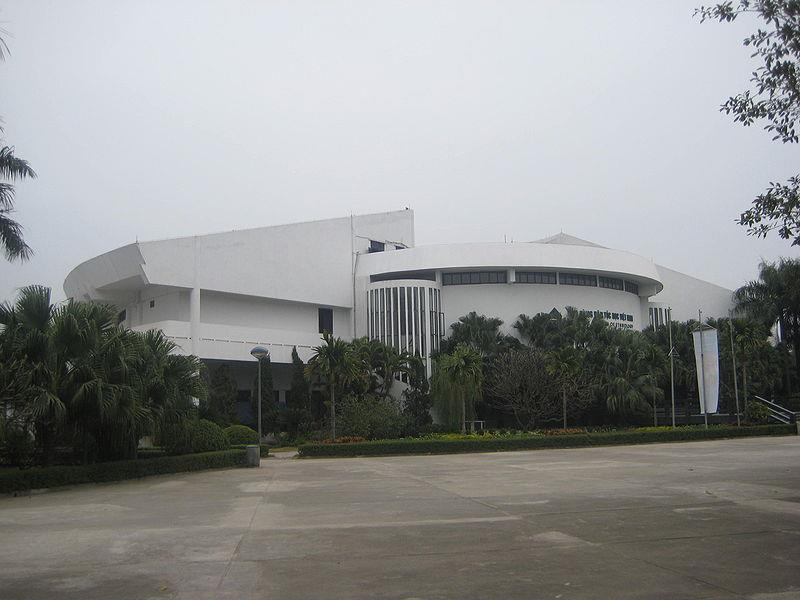 Trong Dong Building in Vietnam Museum of Ethnology