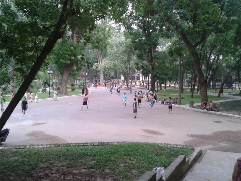 Hanoi Botanical Garden - Place for morning exercise