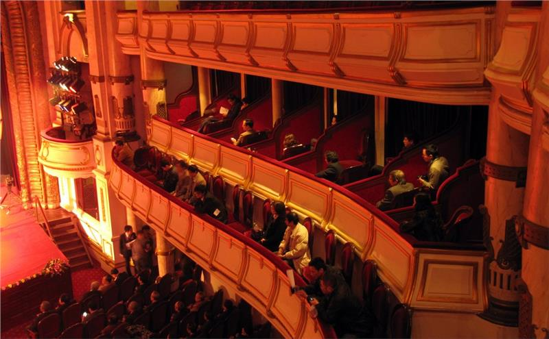 Interior of Hanoi Opera House