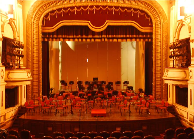 Stage of the Hanoi Opera House