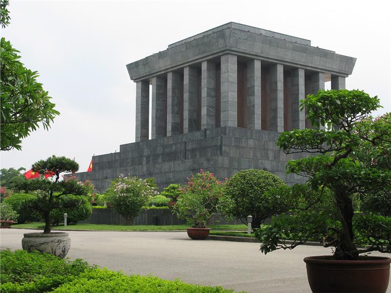 Landscapes surrounding Ho Chi Minh Mausoleum