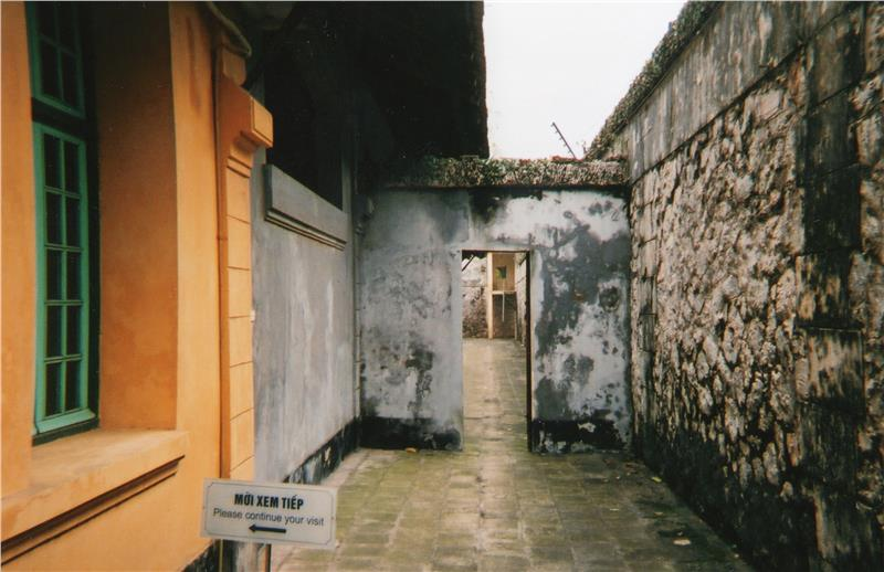 Initial entrance of Hoa Lo Prision