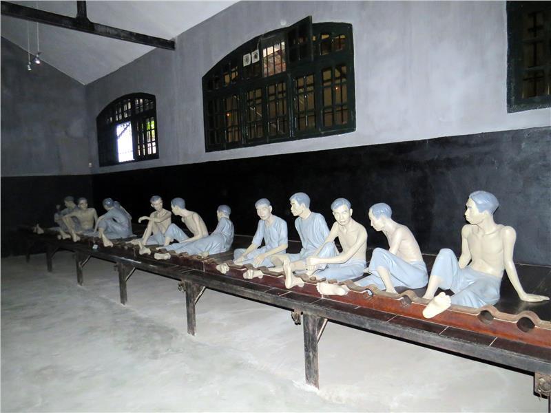 Inside Hoa Lo Prison