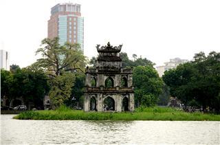 Hanoi Vietnam to Hoan Kiem Lake