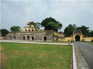 Architectural vestiges of Imperial Citadel of Thang Long