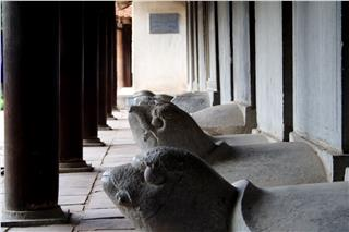 Restore 82 stone steles in Temple of Literature