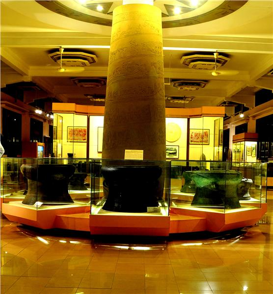 Inside National Museum of Vietnamese History