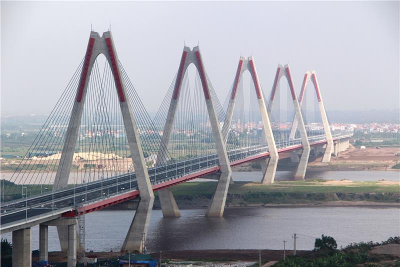 Nhat Tan Bridge in Hanoi