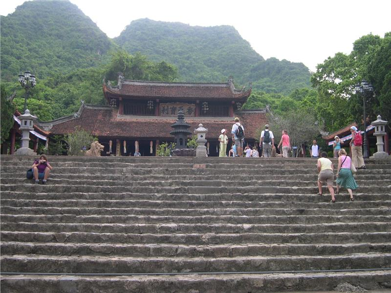 Inside Perfume Pagoda complex