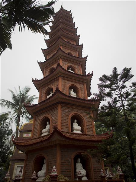 Precious Stupa in Tran Quoc Pagoda