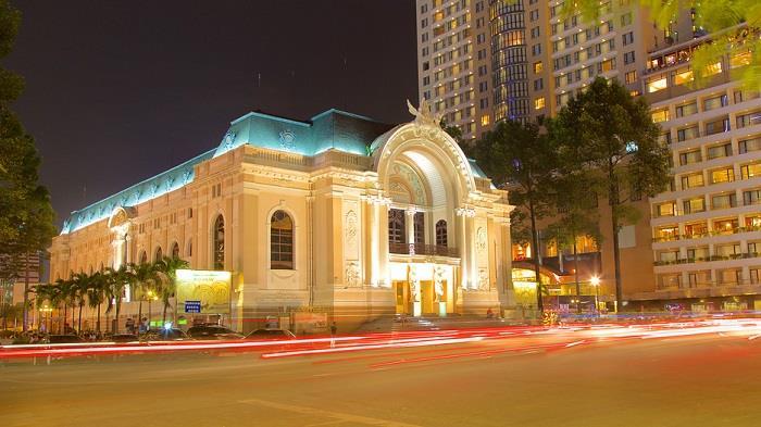 Tham quan nhà hát lớn Sài Gòn