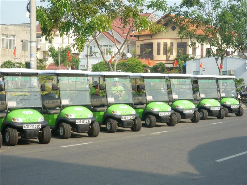 Electric cars in Da Nang City