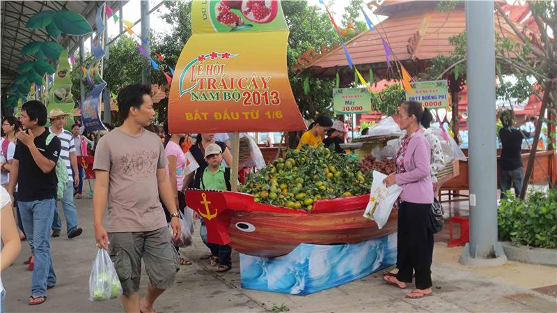 A Colorful Southern Fruit Festival 2013