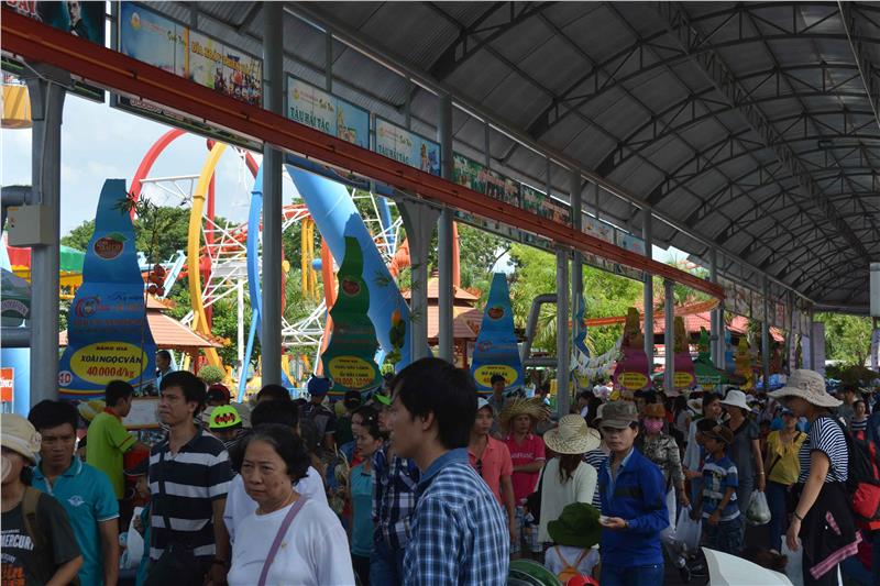 A lot of visitors to Southern Fruit Festival 2014