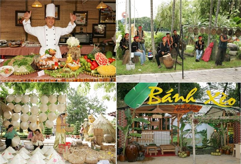 Activities in Southern Cuisine Festival in Ho Chi Minh