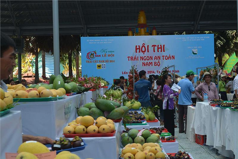 Delicious and Safe fruit contest in Southern Fruit Festival